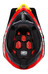 100% Aircraft Helmet bi-turbo red